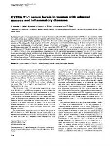 masses and inflammatory diseases - BioMedSearch