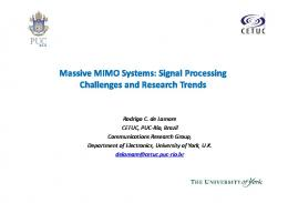 Massive MIMO Systems: Signal Processing ... - Semantic Scholar