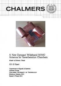 Master's Thesis - Chalmers Publication Library - Chalmers tekniska ...