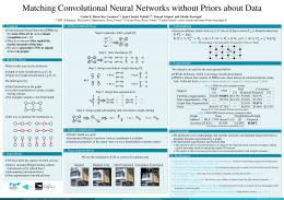 Matching Convolutional Neural Networks without