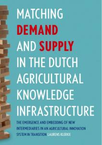 Matching demand and supply in the Dutch agricultural knowledge ...