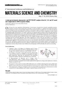Materials Science and Chemistry - OMICS International