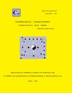 mathematical combinatorics