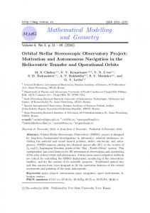 Mathematical Modelling and Geometry