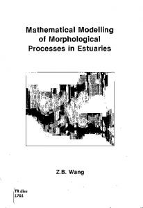 Mathematical Modelling of Morphological