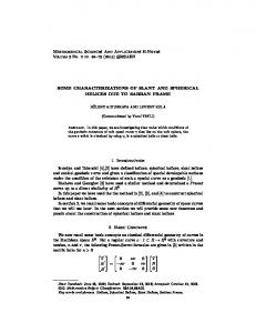Mathematical Sciences And Applications E-Notes SOME