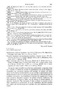 Mathematical statistical mechanics, by Colin J. Thompson, The ...