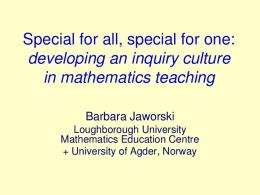 Mathematics Learning Support Centre