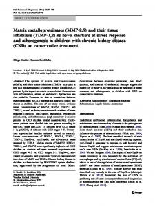 Matrix metalloproteinases - Springer Link
