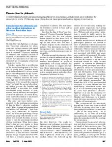 matters arising - The Medical Journal of Australia