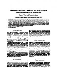Maximum Likelihood Estimation (MLE) - Semantic Scholar