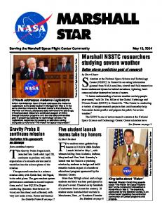 May 13, 2004 - NASA Marshall Star