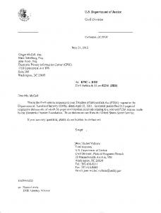 May 2012 Disclosure - Electronic Privacy Information Center