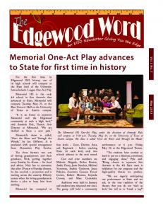 May 2013 - Edgewood Independent School District
