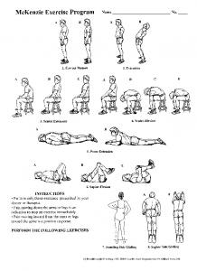 McKenzie Exercises