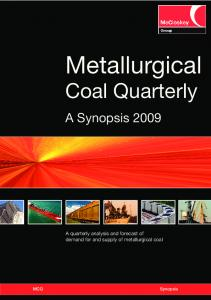 MCQ synopsis Covers:Layout 1.qxd - Steel Business Briefing