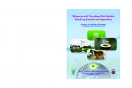 Measurement of Greenhouse Gas Emission from Crop ... - NICRA