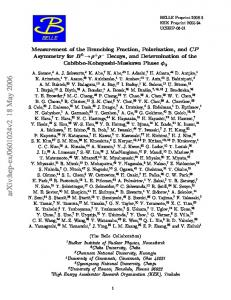 Measurement of the branching fraction, polarization, and CP ...