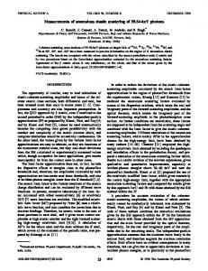 Measurements of anomalous elastic scattering of 59.54-keV photons