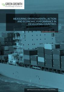 measuring environmental action and economic performance in