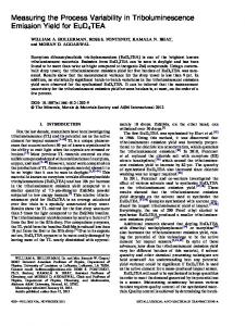 Measuring the Process Variability in ... - Springer Link