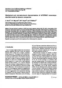Mechanical and microstructural characterization of ... - Springer Link