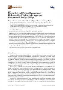 Mechanical and Physical Properties of ... - Semantic Scholar