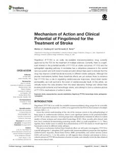 Mechanism of Action and Clinical Potential of ... - Semantic Scholar