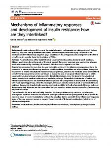 Mechanisms of inflammatory responses and development of ... - Core