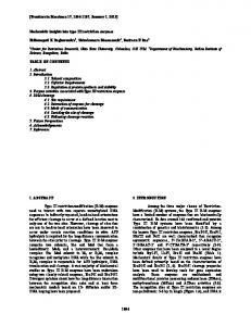 Mechanistic insights into type III restriction enzymes