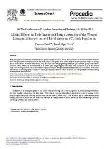 Media Effects on Body Image and Eating Attitudes of ... - ScienceDirect