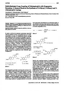 Mediated Cross Coupling of 2-Iodoestradiol with