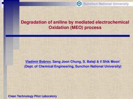 Mediated Electrochemical Oxidation(MEO)