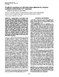 mediated intracellular Ca2+ signaling - Europe PMC