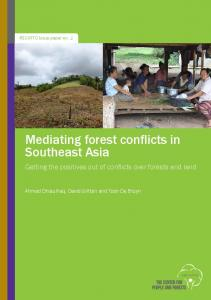 Mediating forest conflicts in Southeast Asia - Online Burma Library