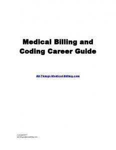 Medical Billing and Coding Career Guide
