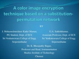 Medical image encryption using modified advanced ...