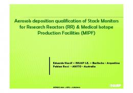 Medical Isotope Production Facilities
