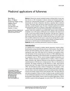 Medicinal applications of fullerenes - BioMedSearch