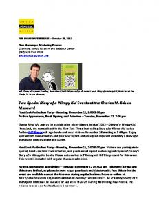 Meet Jeff Kinney: Author of Diary of a Wimpy Kid