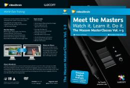 Meet the Masters - Wacom