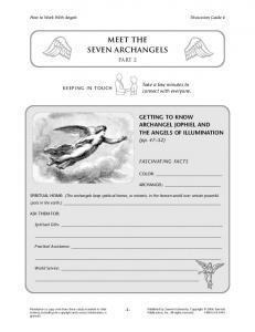MEET THE SEVEN ARCHANGELS - Bookstudygroups.org