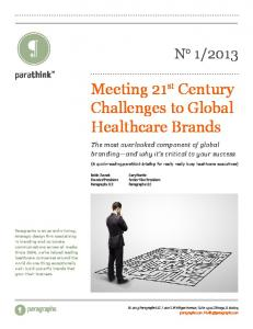 Meeting 21st Century Challenges to Global ... - WordStreamCopy