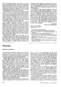 Melatonin - NCBI