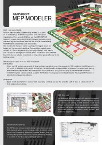 MEP Systems Smart MEP Routing MEP for Architects Main workf ...