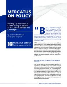 mercatus on policy - Mercatus Center