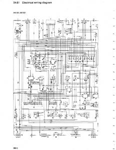 Mercedes 300GD Wiring Diagram.