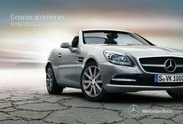 Mercedes-Benz Genuine Accessories for the SLK