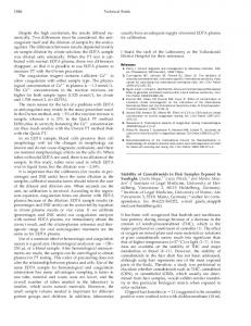 merically. Two differences must be considered ... - Clinical Chemistry