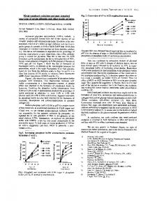 Metal-catalysed oxidation and post-Amadori reactions ...